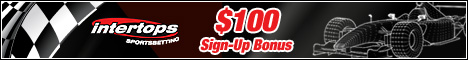 Get $100 Welcome Bonus at Intertops!