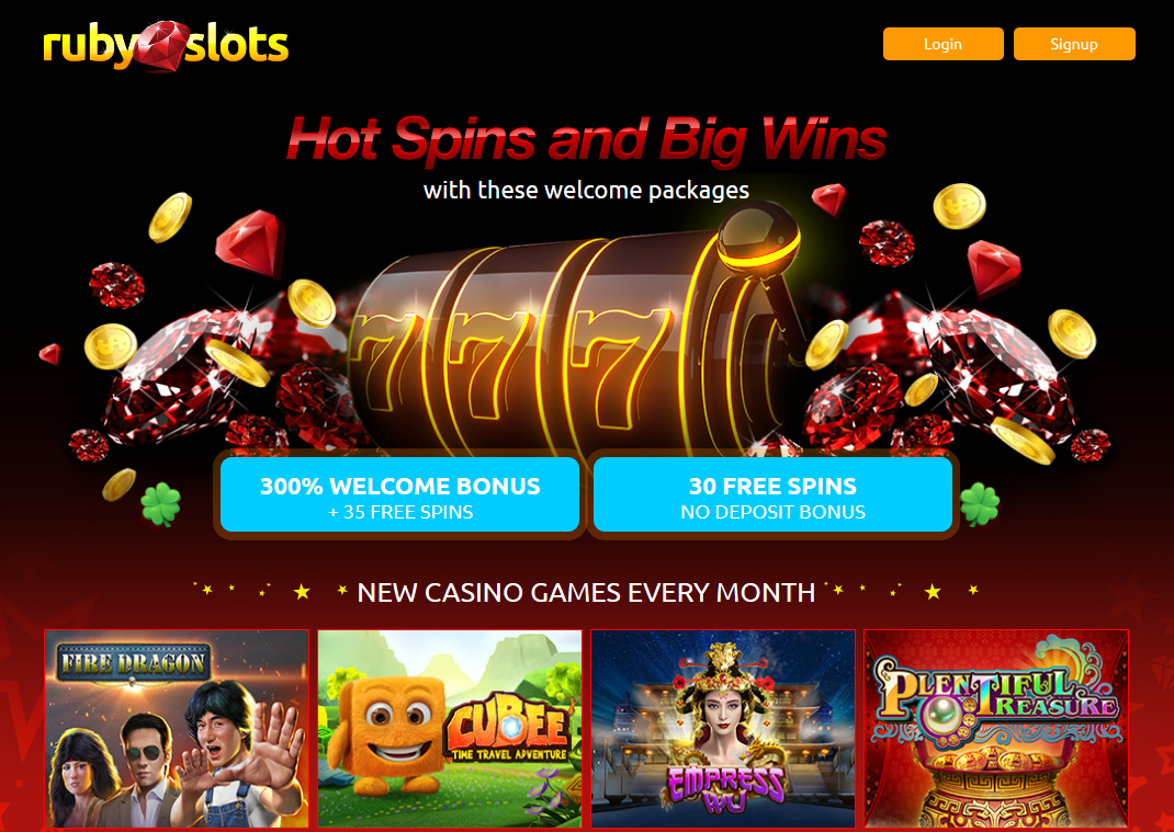 Ruby Slots - Hot Spins and Big Wins