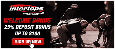 $100 Sign-up Bonus at                                                  Intertops